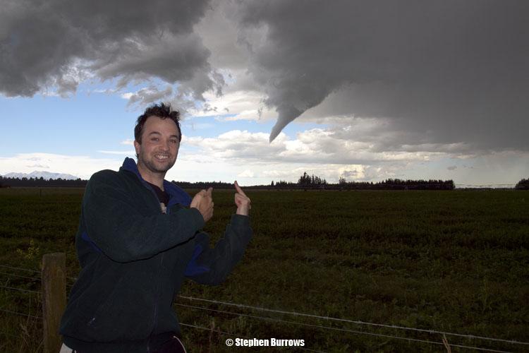 Aaron near Tornado