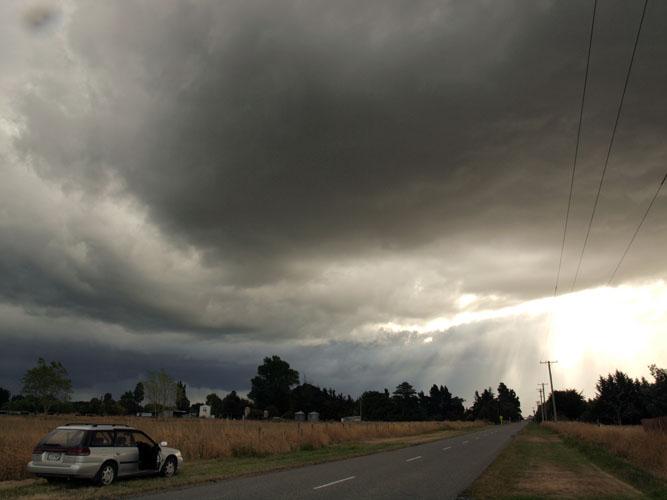 Christchurch gets a storm at last!