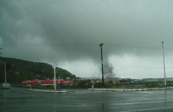 Greymouth tornado